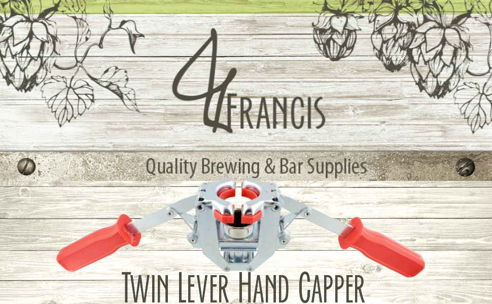 Picture of G. Francis - Quality brewing and bar supplies - Twin lever hand capper