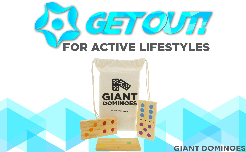 Get Out! - For active lifestyles - Giant Dominoes