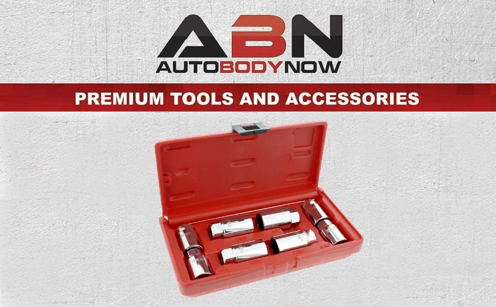 ABN Premium Tools and Accessories SAE Stud Extractor Set, Metric Stud Remover Set Stud Puller