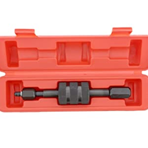 M14 Thread Adapter by JTC 4646 M12 Diesel Injector Puller Tool with Slide Hammer,Common Rail Injector Remover w// M8