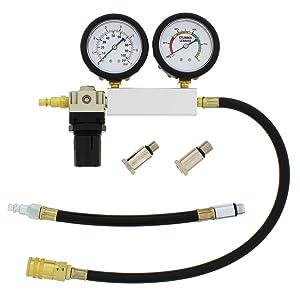 Picture of cylinder leak detector engine compression tester kit