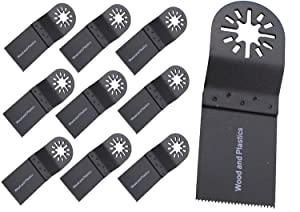 ABN Oscillating Saw Blades 1-3/8in 10-Pack, Multitool Blades Universal  Oscillating Tool Fein Multimaster Blades