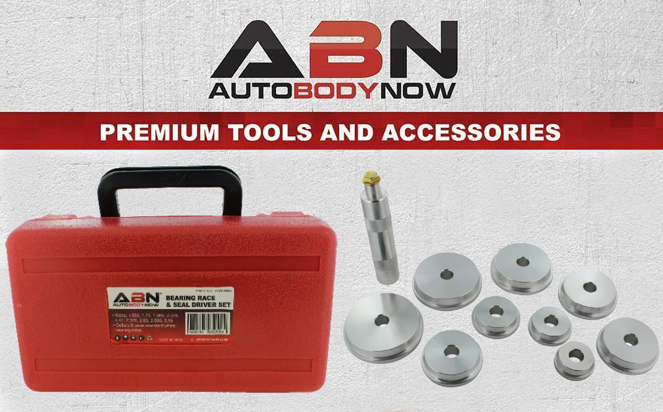 Swess Bearing Race and Seal Bush Driver Set Universal Kit for Automotive Wheel Bearings,Automotive Bushing Installer Remover Tool Kit.10 pcs