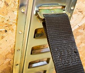 Amazon.com: ABN 5' Foot Galvanized Horizontal E-Track Zinc