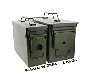 About Redneck Convent Metal Ammo Can - Military Army Solid Steel Holder Box for Long-Term Shotgun Rifle Ammo Storage  sc 1 st  Amazon.com & Amazon.com : 50 Cal Metal Ammo Case Can 1-Pack - Long-Term Shotgun ... Aboutintivar.Com