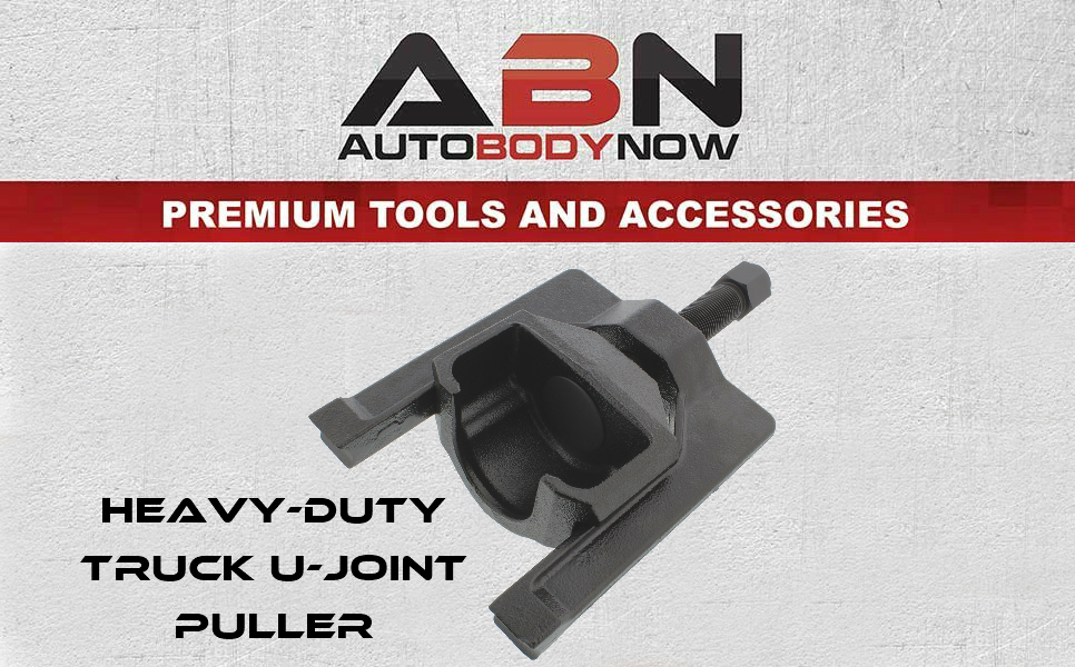 """ABN Universal Joint Puller 1 5"""" to 2 2"""" Inch U-Joint Remover Cup Puller  Tool for Spicer Meritor Rockwell Class 7 & 8 Truck & Machinery"""