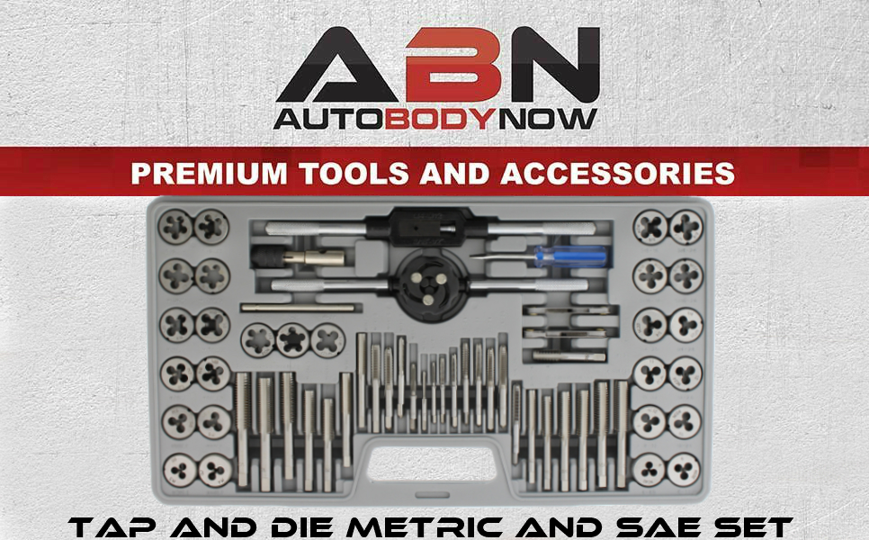 Amazon Abn Metric And Sae Standard Tap And Die 60 Piece