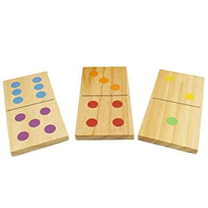 Picture of domino pieces