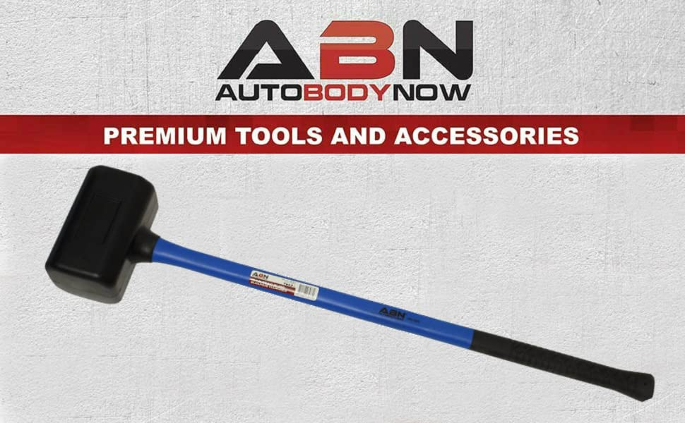 ABN AutoBodyNow premium Tools and Accessories Rubber Mallet Hammer