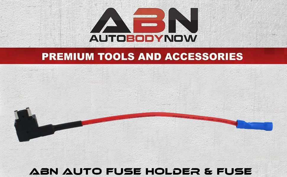 Auto Fuse Holder and fuse banner