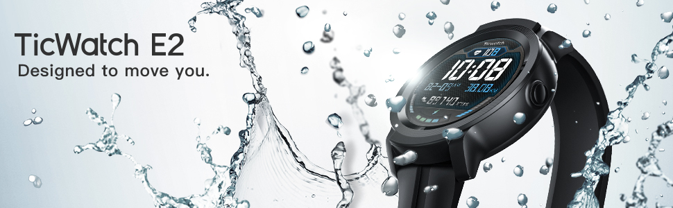TicWatch E2 smart watch