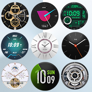 Changeable watch face