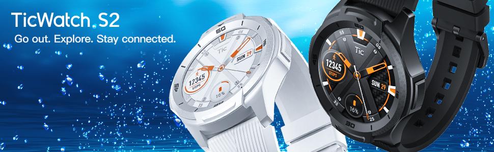 smart watch TicWatch S2 smartwatch