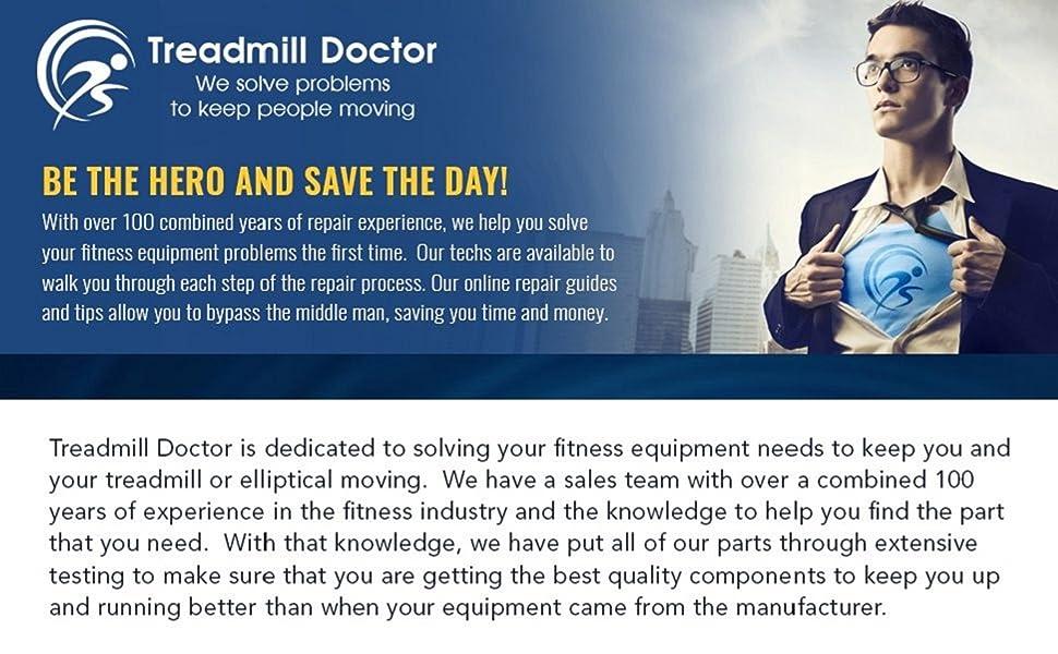 Treadmill Doctor Proform 585 Treadmill Running Belt Model# 297683
