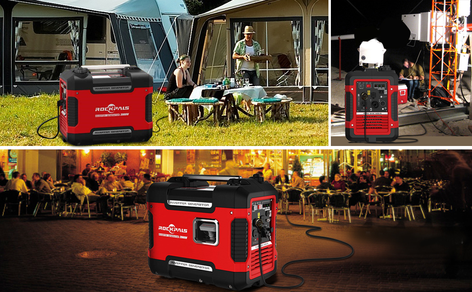 portable generator gas for camping