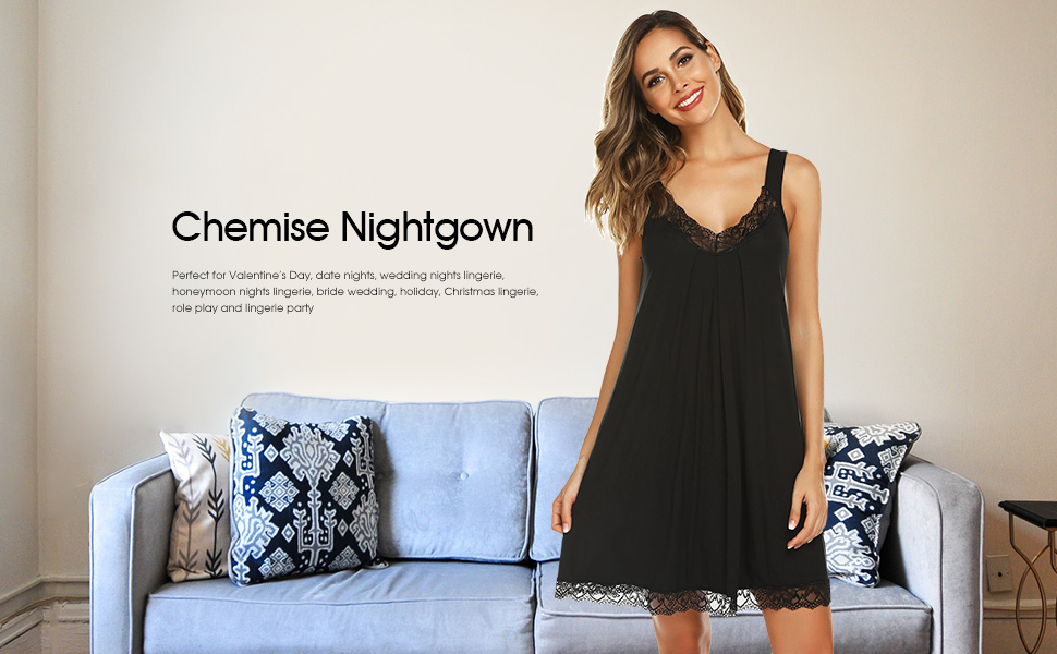 chemise nightgown