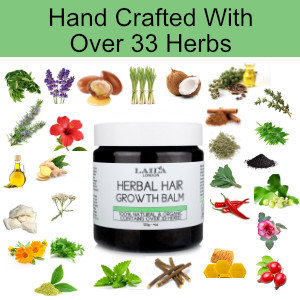 Amazoncom Hair Growth Herbal Organic Balm 100 Natural Promotes
