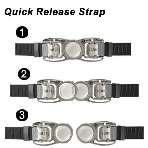 swim goggles strap