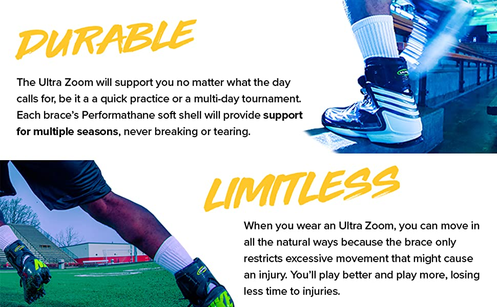 Durable and Limitless Ankle Braces