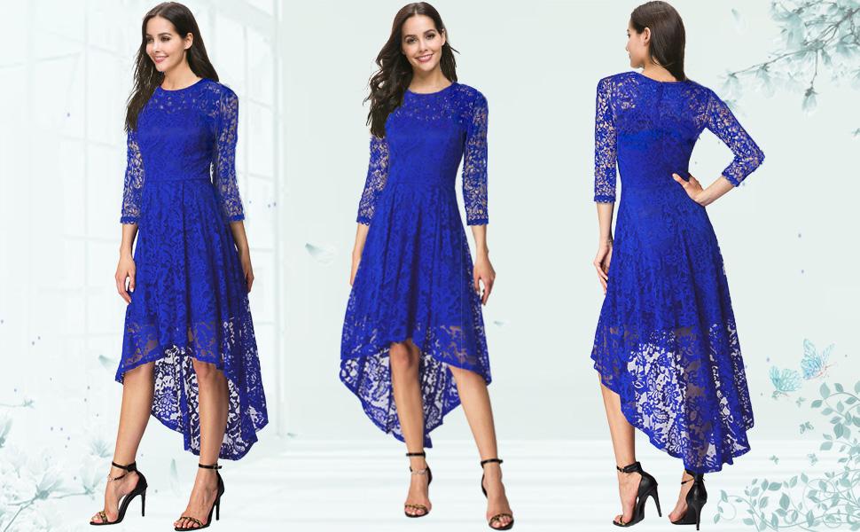 Amazon.com: BBX Lephsnt Womens Lace Cocktail Dress Elegant