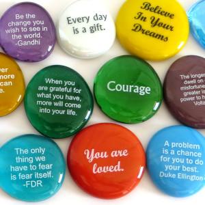 lifeforce glass, encouragement stones, words on rocks, glass stones, inspirational gift, word rocks