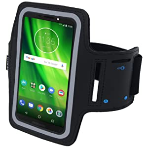 running and exercise arm band for motorola moto g5 one power p30 x4 x droid turbo 2 note iphone xs 3