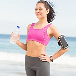 arm band running accessories fitness sleeve pod itouch arms wrist runner jog jogging mp3 player 5 6