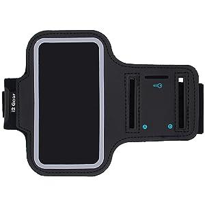 running armband arms band phone holder workout wristband runner run jog jogging walk exercise fit i