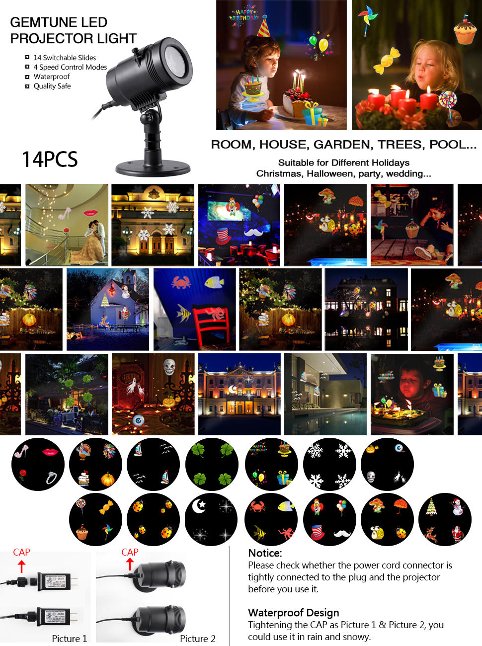 projector lights ideas outdoor christmas decorating lighting projection