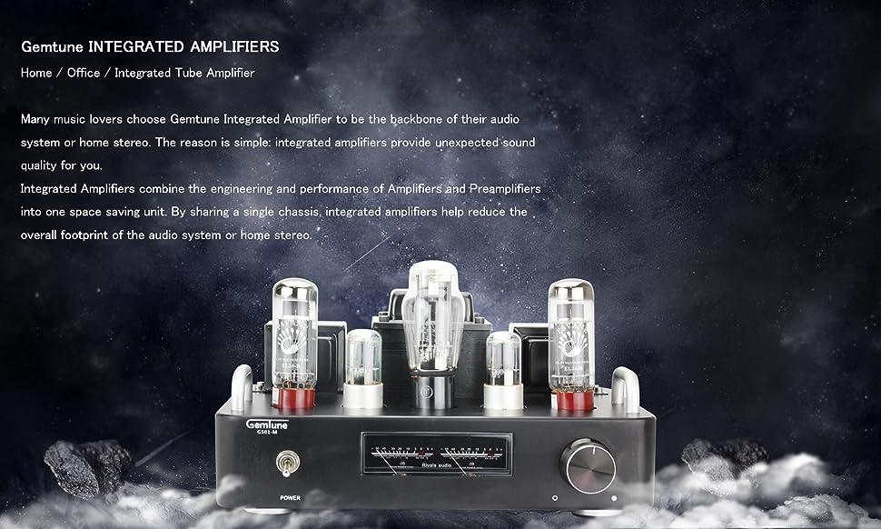 Amazon.com: Gemtune - Amplificador de tubo: Home Audio & Theater