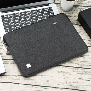 NIDOO 13.3 Inch Laptop Sleeve Case Water Resistant Protective Cover Portable Carrying Bag for 13