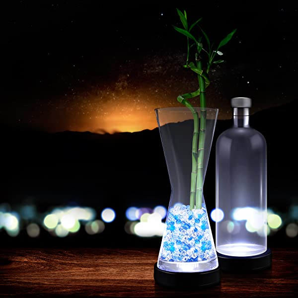 Amazon.com: Luz blanca Up LED Botella glorifier (12 unidades ...
