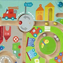 round about traffic circle maze elements