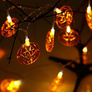 Orange Jack O'Lanterns