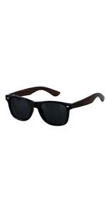 Wooden Sunglasses For Men Women - Wood Bamboo Frame ANDWOOD Blenders Eyewear Polarized Sunglass