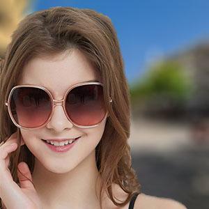 Oversized Sunglasses Big Large Women Square Wide Black Brown Retro Trendy Pink
