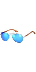 Black Aviator Sunglasses For Women Men Wood Frame Wooden ANDWOOD Polarized Mirrored Blue Yellow …