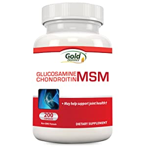 Gold Banner Glucosamine Chondroitin MSM