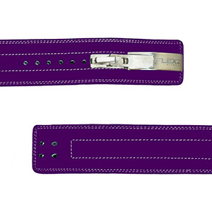 artificial leather solid stainless steel thick thread metal buckle clasp