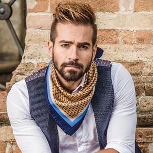 silk foulard man twill neck scarf square elegant ascot neckerchief