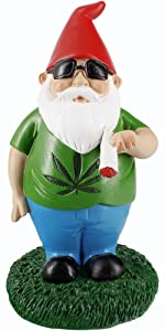 smoking gnome