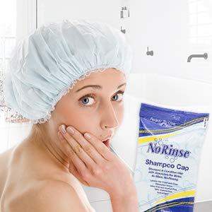 no rinse shampoo cap
