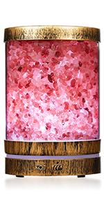 Salt lamp essential oil diffuser