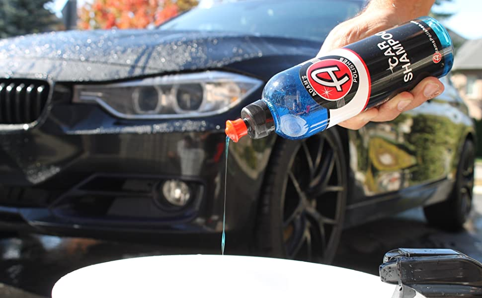 Amazon Com Adam S Car Wash Shampoo Ph Neutral Soap Formula For