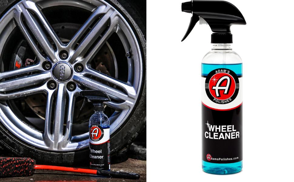 wheel cleaner tire rubber remove contamination spot free finish