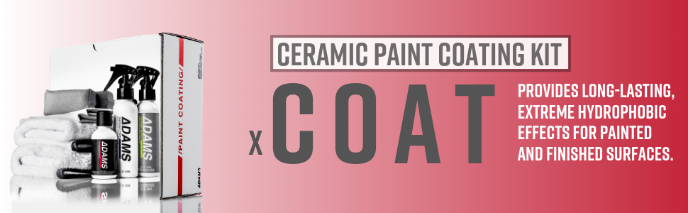 Adam's 9H Ceramic Paint Coating Kit Chemical Guys Meguires Hydrosilex Gyeon f11 nano top coat clear