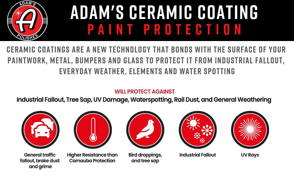 Adam's Ceramic Paint Coatings