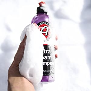 car wash soap detailing washing wax car care snow lance foam gun cannon professional paint wheels