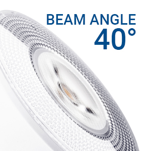 beam angle 40 degrees narrow spot light spotlight accent lighting