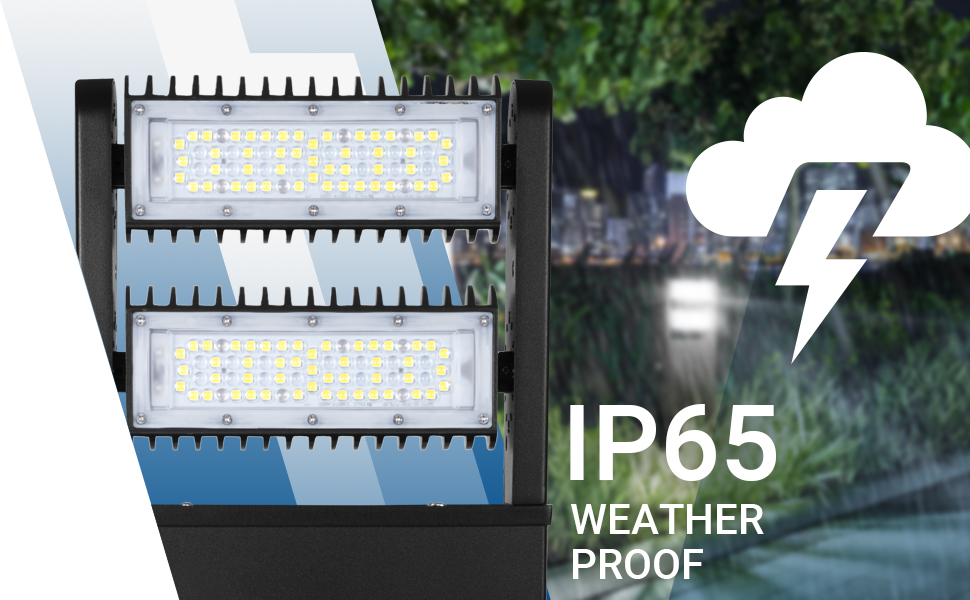 IP65 rating ingress protection resistant to all elements weather dust water showers